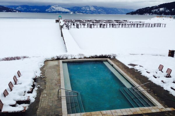Warm Pool in Winter